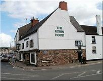 SO5012 : The Robin Hood Inn, Monmouth by Jaggery