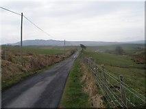 NR7122 : Ballywilline Farm, Campbeltown by Derek Tootill