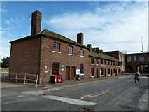 SP0388 : Soho Foundry - cottages  by Chris Allen
