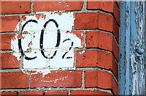 J3674 : CO2 sign, Belfast by Albert Bridge
