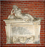 TG2608 : St Andrew's church in Thorpe St Andrew - memorial by Evelyn Simak