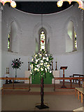 TG2608 : St Andrew's church in Thorpe St Andrew - the apse by Evelyn Simak