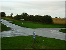 TA0609 : Cross Roads to the East of Barnetby-le-Wold by Ian S