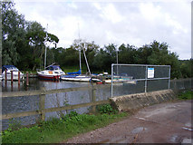 TG3204 : Hellington Beck Outfall and Rockland Staithe by Glen Denny