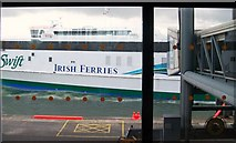 O2034 : The arrival of HSC Jonathan Swift at Dublin Port by Eric Jones