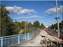 SU6252 : Brunel Road - bridge repairs by Given Up