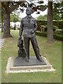 SU8707 : Douglas Bader statue by Neil Owen