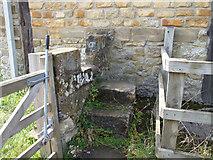 SE7365 : Stone Stile at Kirkham Abbey by Keith Laverack