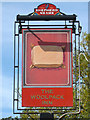 TQ7048 : The Woolpack Inn sign by Oast House Archive