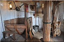 TF7632 : Great Bircham Windmill - The Bin Floor by Ashley Dace