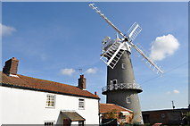 TF7632 : Great Bircham Windmill - Bakery and External View by Ashley Dace