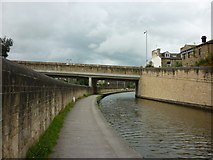 SE1039 : Walking along the Leeds to Liverpool Canal #190 by Ian S