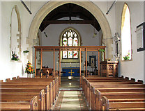 TG1807 : St Andrew's church in Colney - view east by Evelyn Simak