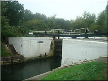 TQ1579 : Lock 97, Grand Union Canal, Hanwell by Stacey Harris