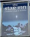 SO3003 : Sign for the Star Inn by Maigheach-gheal