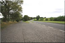 NZ4310 : The A67 road near Yarm - old and new by Philip Barker
