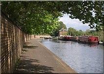 TQ1479 : Grand Union Canal near Ealing Hospital by Derek Harper