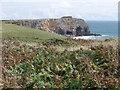 SR9792 : St. Govan's Head, Pembrokeshire by nick macneill