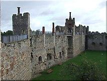 TM2863 : Framlingham Castle by Malc McDonald
