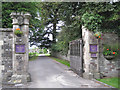 ST6390 : Entrance to Thornbury Castle Hotel by Robin Stott