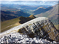 NN1465 : The north ridge of Stob Ban by Karl and Ali