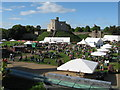 ST1876 : Cheese Festival at Cardiff Castle by Gareth James