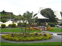 SS5147 : Bandstand in the gardens in Wilder Road by Rod Allday