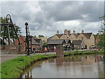 SJ6903 : The Shropshire Canal at Blists Hill Victorian Town by Robin Drayton