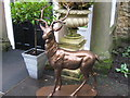 NZ2334 : Fallow Deer Statue, Whitworth Hall Hotel by Alex McGregor