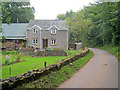 SO3319 : Cottage at Pant-y-tyle by Trevor Rickard