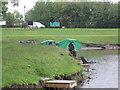 NZ2334 : Fishermen, Whitworth Hall Country Park by Alex McGregor