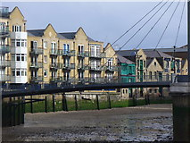 TQ3680 : Limehouse Creek by Colin Smith