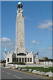 SZ6398 : Naval Memorial by Graham Horn