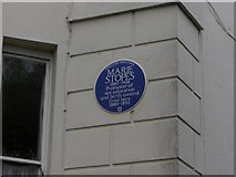 TQ3370 : English Heritage Blue Plaque by Robert Rimell