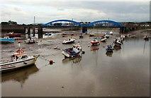 SH9980 : Foryd Bridge over the River Clwyd by Steve Daniels