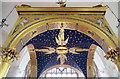 SU6604 : St Philip, Cosham, Portsmouth - Baldacchino by John Salmon