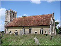 TM1453 : Hemingstone St Gregory's church by Adrian S Pye