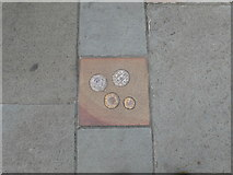 ST5393 : Chepstow pavements by Eirian Evans
