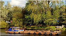 J3371 : Dredging the River Lagan, Belfast -  2010/11 (12) by Albert Bridge