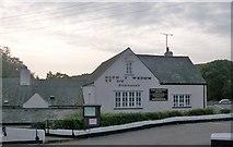 SH3231 : The Glyn y Weddw Ty Du Public House, Llanbedrog  by Eric Jones