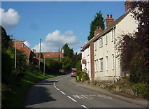 SK7474 : Village street in Askham by Andrew Hill