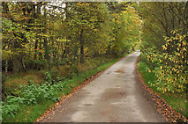 NH6751 : Road from Taindore to Drynie by Steven Brown