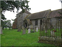 SU8518 : St Mary's Church and churchyard Bepton by Dave Spicer