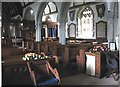 SX2468 : Interior of St Clarus's Church.  St. Cleer, Cornwall. by Derek Voller