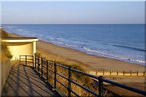 TG2142 : Zigzag path to Cromer Beach, Norfolk by Christine Matthews