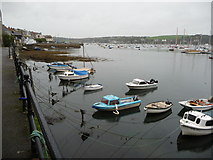SW8132 : King Charles' Quay, Falmouth in October by Jeremy Bolwell