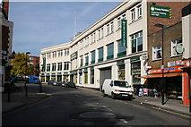 TQ3385 : Stoke Newington:  Matthias Road by Dr Neil Clifton