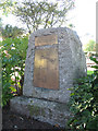 SX8751 : Newcomen memorial, Dartmouth by Stephen Craven
