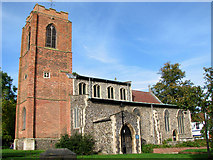 TG2209 : The church of St Augustine, Norwich by Evelyn Simak