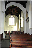 TG2209 : The church of St Augustine, Norwich - south aisle by Evelyn Simak
